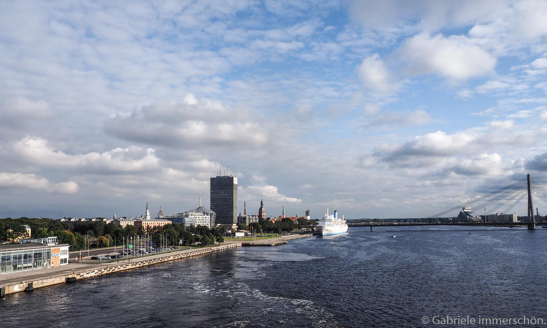 Die Cruise beginnt - mit der Romantika von Riga nach Stockholm