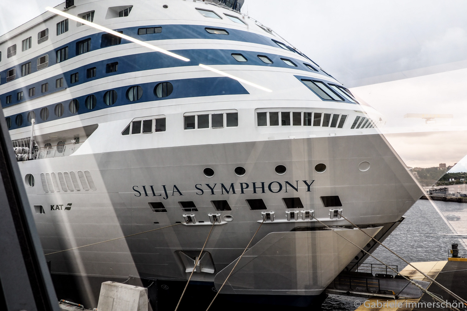 Mit der Silja Symphony von Stockholm nach Helsinki